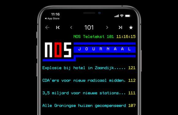 NOS Teletekst-app voor iPhone of iPad: dit kun je ermee