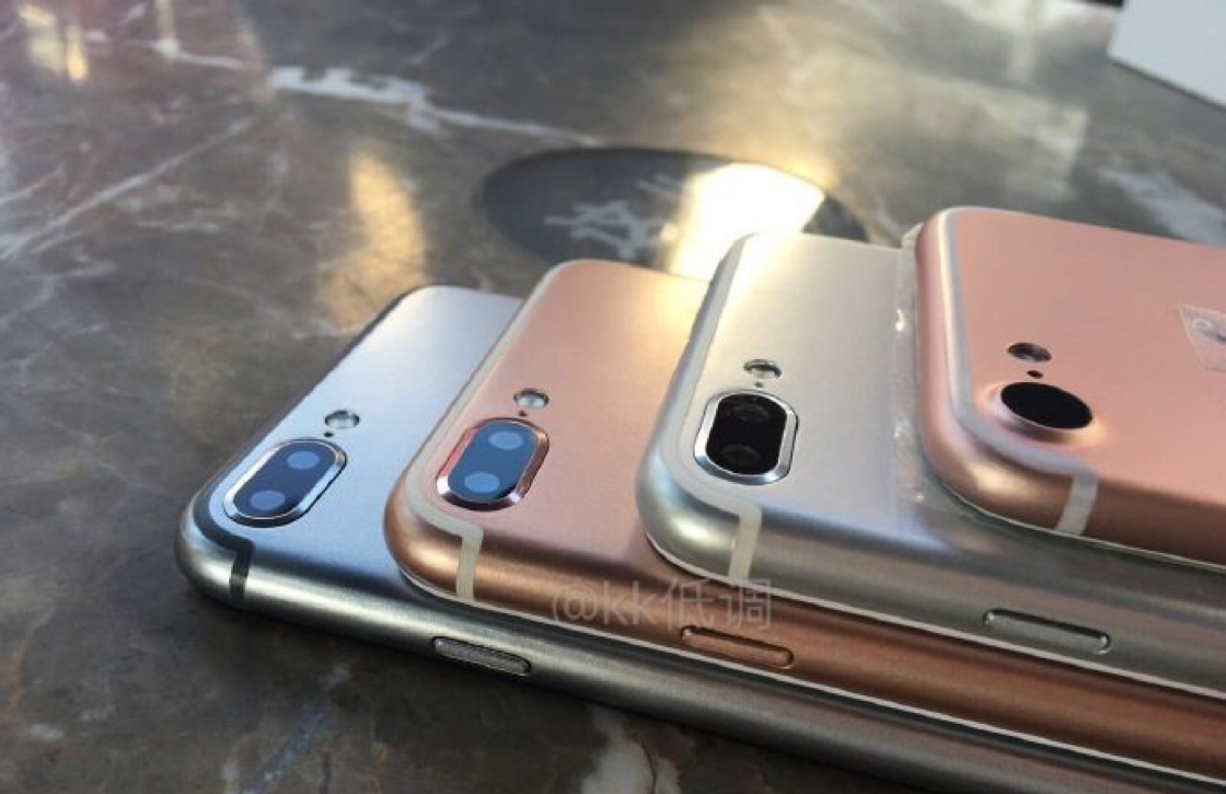 'iPhone 7 verschijnt halverwege september'