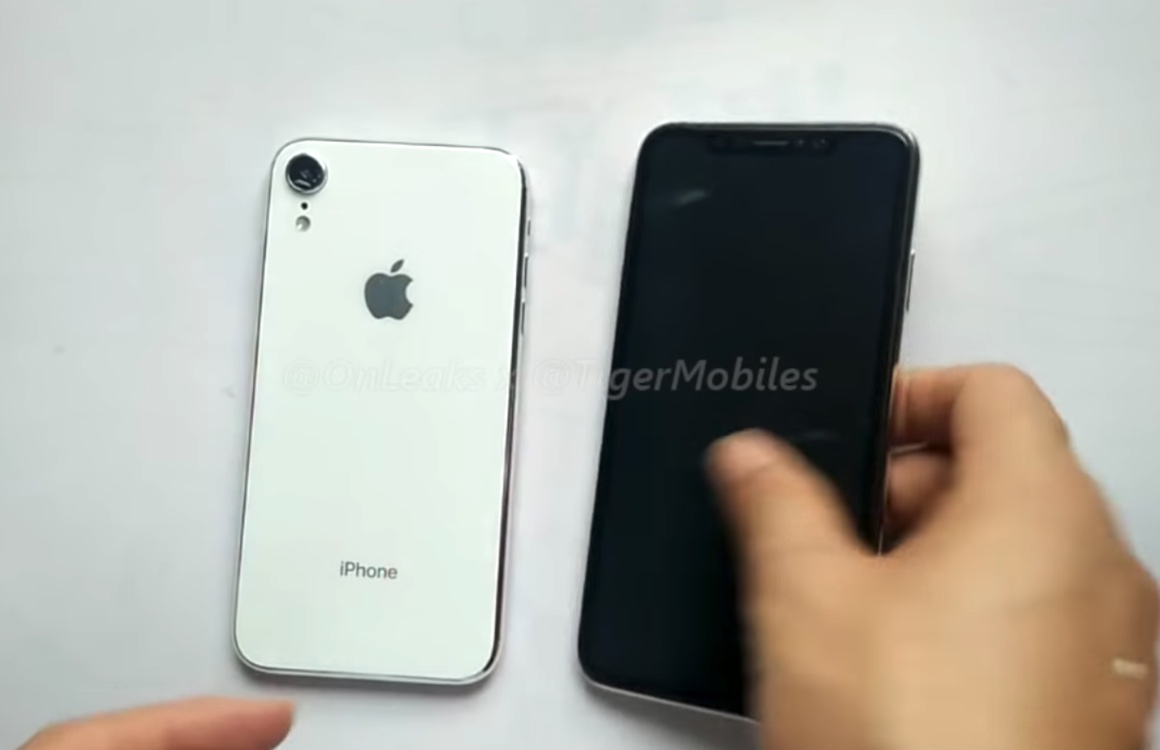 Video toont gelekte dummies iPhone X Plus en 6,1 inch-iPhone 2018