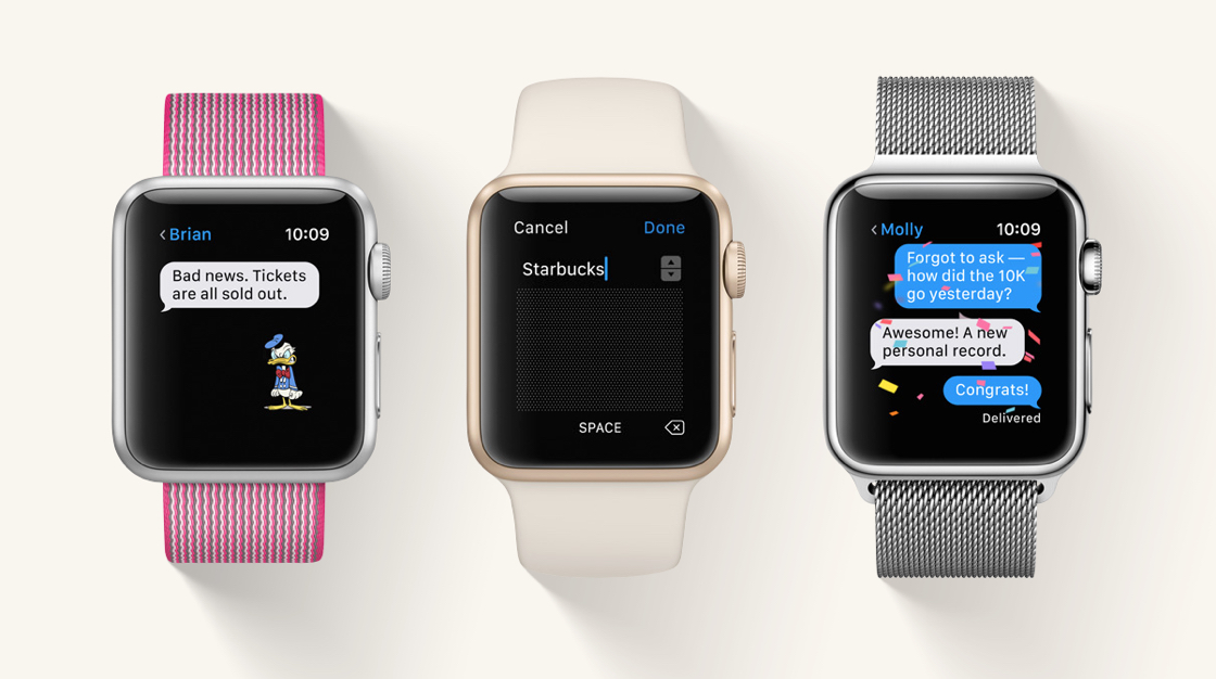 Apple Watch Series 3 micro-led