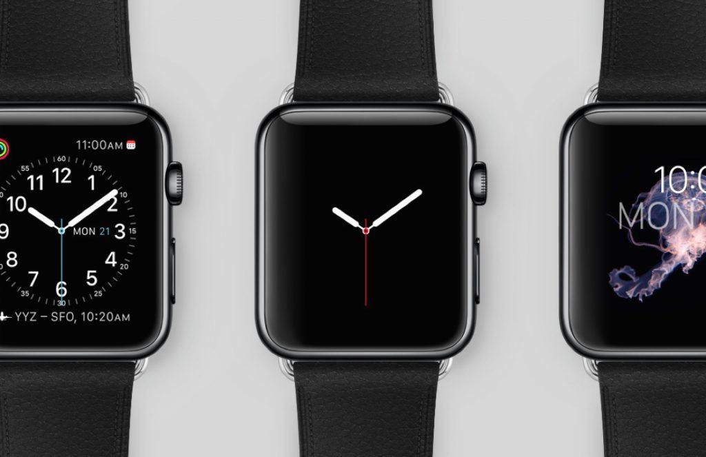 Apple Watch Series 3 touchscreen