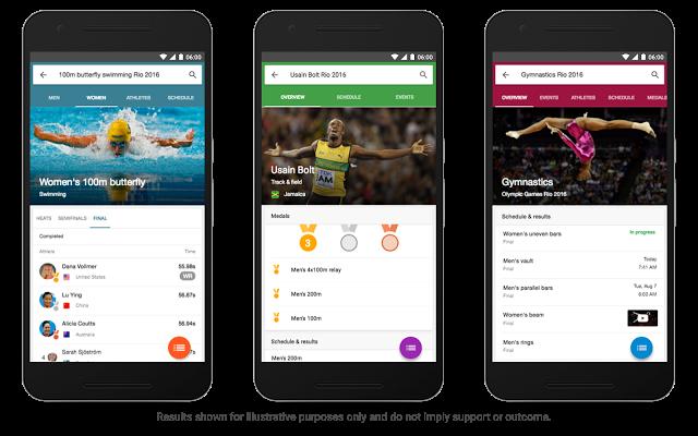 Olympische Spelen apps