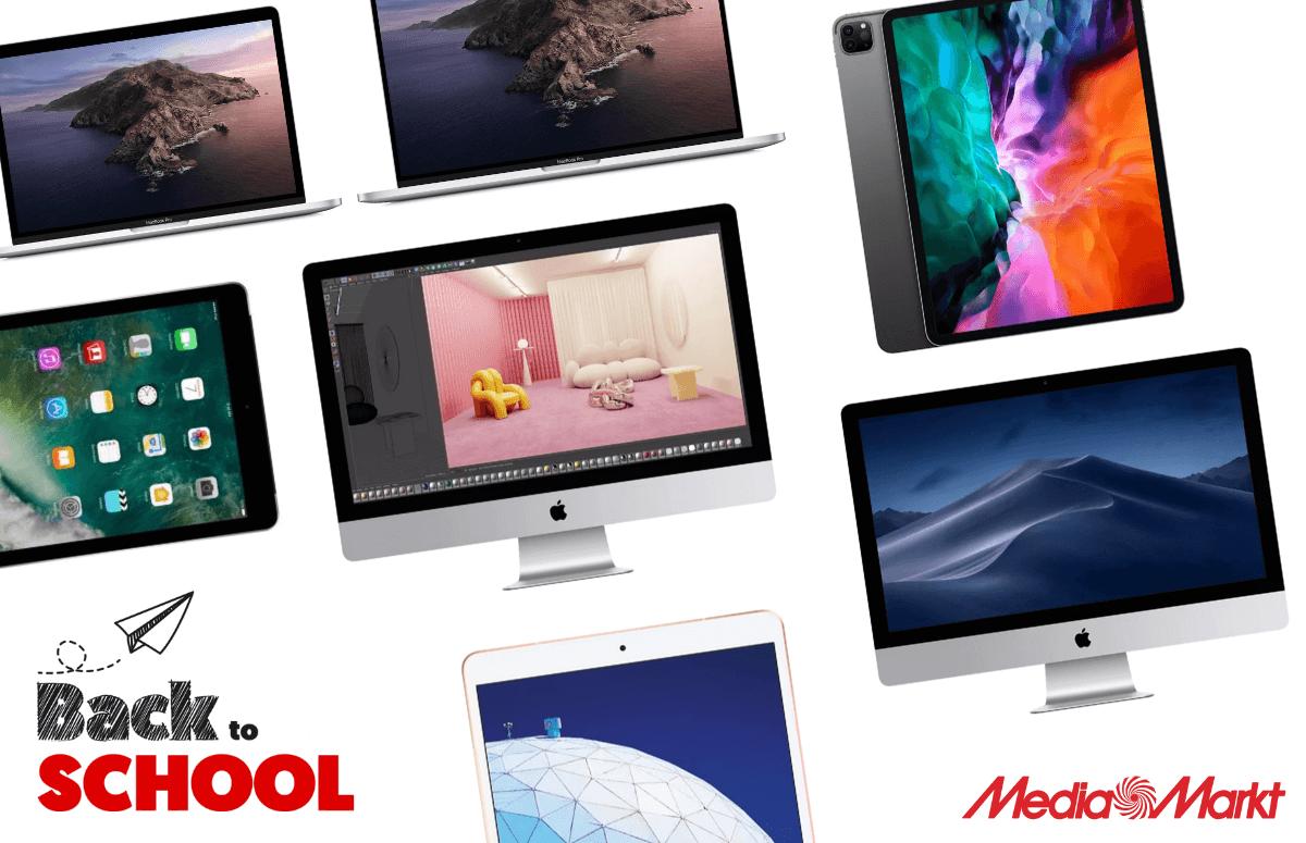 Back to School: de beste Apple-apparaten voor het nieuwe schooljaar! (ADV)