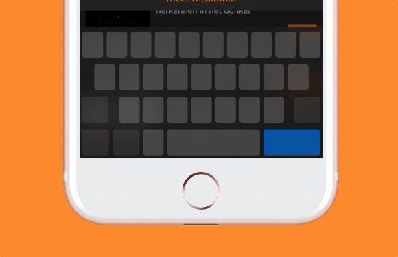 Tip: Zo gebruik je het iPhone-toetsenbord als muis in iOS 12