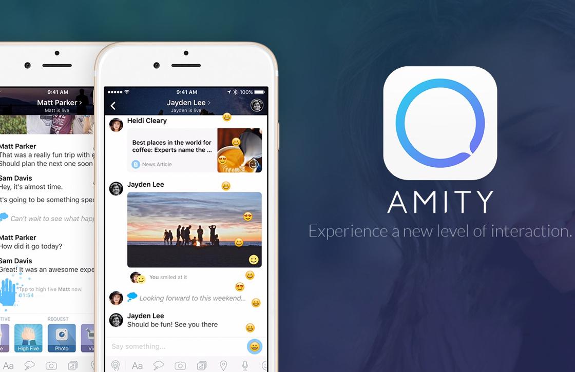 Amity: prachtige chat-app gaat de strijd aan met WhatsApp en Telegram