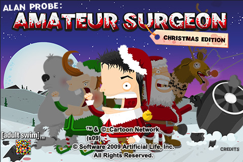 amateur surgeon kerst