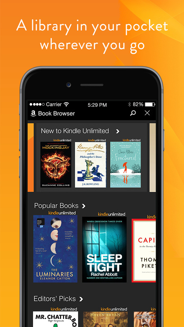 how to download free books on kindle app on iphone