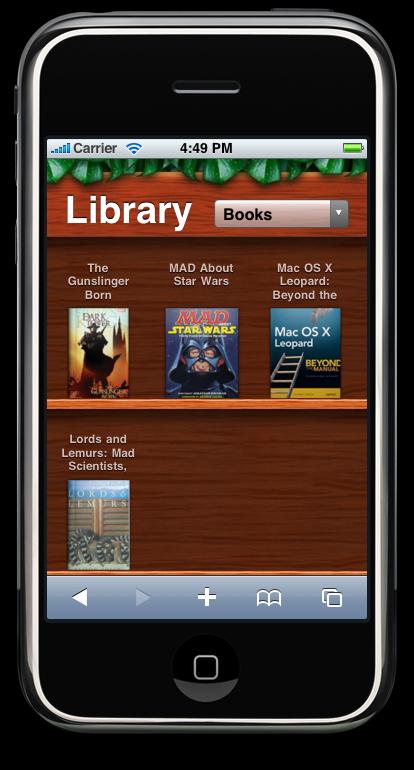 Delicious Library App