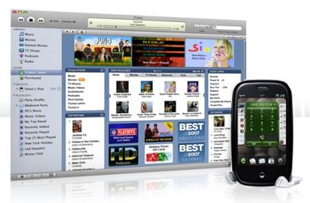 Palm Pre en iTunes